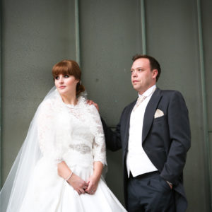 Wedding Photography in the City Centre