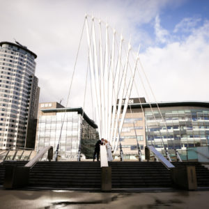 Wedding Photography at Media City