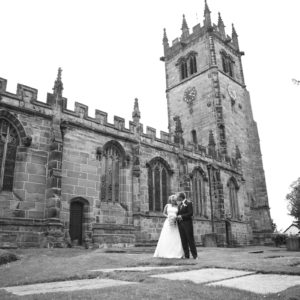 Wedding Photography at Gawsworth Church