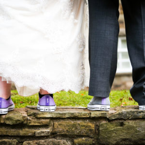 Photo of wedding shoes